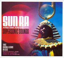 SUN RA AND HIS ARKESTRA - SUPERSONIC SOUNDS - 3 ORIGINAL ALBUMS (NEW SEALED 3CD)