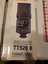 Godox Thinklite TT520II Flash for DSLR Cameras, 33m at ISO Read the Description