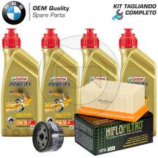 KIT TAGLIANDO COMPLETO OLIO CASTROL FILTRO OLIO ARIA BMW R 1200 GS 2010-2012