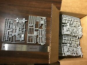 HO Scale Box of Gray Train Car Parts New Old Stock NOS $1 Lot #120