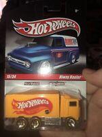 Mattel Hot Wheels Real Riders Metal/Metal Hiway Hauler Yellow #15/34