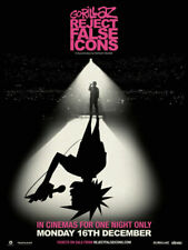 Gorillaz Reject False Icons Poster Music Art Film Print Wall Home Room Decor