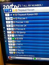 14 giorni liberi .200 PLUS TV IPTV 2,92/m * UA * de * Russkoe * TV * per aura, MAG, Android, Apple