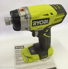 "Ryobi P236A NEW 18V One + Cordless 1/4"" Impact Driver Li-Ion, NiCd - Bare Tool"