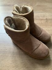 Women/'s  SoulCal Hussle Boots Shoes fleece lined ankle style Tan UK 3 EU 36
