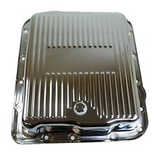 700R4 Chrome Steel Trans Pan Transmission 4l60E Chevrolet Chevy GMC Buick Olds