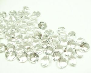 Clear Acrylic Diamond Confetti Wedding Table Scatter Party Decor 6mm 10mm