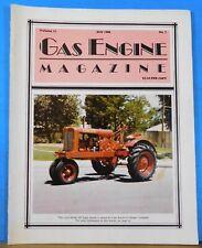 Gas Engine Magazine 1986 July Gas Engines Power Ice Cream Freezers