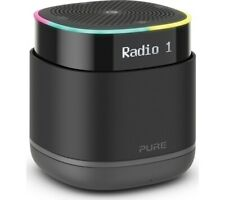 Pure StreamR Portable DAB+/FM Bluetooth Smart Speaker - (Charcoal) B+