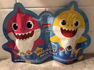 Pinkfong Baby Shark Rubber Finger Puppets Bath Dust New Lot Of 2 New