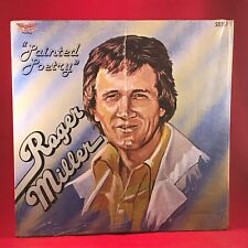 ROGER MILLER Painted Poetry - 1978 USA Vinyl  LP EXCELLENT CONDITION