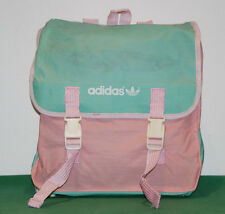 NOS adidas vintage bag korea leather run tennis camping retro cloth 80s 90s RARE