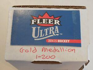 2014/2015 Ultra Gold Medallion Complete Set 1-200