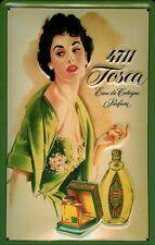 Blechschild 4711 Tosca (1) Fläschchen Eau de Cologne kölnisch Wasser Parfum Köln