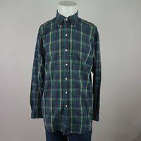 Ralph Lauren Blake Multicolor Long Sleeve Button Front Plaid Casual Shirt Mens M