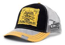 VON van DUTCH MESH TRUCKER BASE CAP [PREMIUM CORD QUALITY GOODS] MÜTZE USED VINT