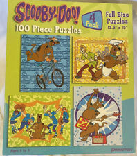 Scooby-Doo Jigsaw Puzzles-4pack 100 Piece Puzzles