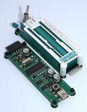 Diamex PICProg Programmer PICKIT2 mit Schwenkhebler Nullkraftsockel für DIL PIC
