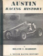 Austin Racing History Motor Racing Scrapbook  1968 Reprint Edition