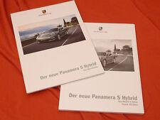 2011 PORSCHE Panamera S hybride prospectus brochure Set - 11/10