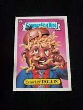 Garbage Pail Kids CRAWLIN ROLLIN 584BOriginal Series 15 Non DieCut GPK Card 1988