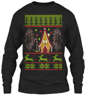 Cozy Ugly Christmas Sweater For Men And Women Gildan Long Sleeve Tee T-Shirt