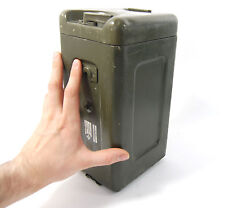 MILITARY ALUMINUM SMALL TRANSPORT CASE BOX CONTAINER WEATHER PROOF FARADAY CAGE