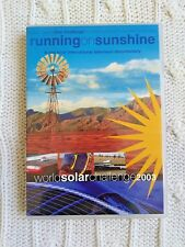 RUNNING ON SUNSHINE- WORLD SOLAR CHALLENGE, DVD, R-4, LIKE NEW, FREE POST
