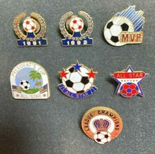 Soccer Pin MVP All Star League Champions Lot of 7