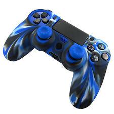 ECONOMICO SILICONE impugnatura in gomma Custodia cover sottile per PS4 joystick