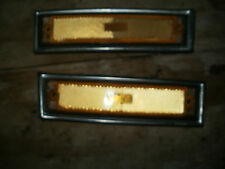 81-87 style chevy gmc cucv front side marker lights or 81-91 without chrome
