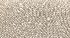 Clarence House Outdoor Herringbone Fabric- OD Amalfi Off White 3.30 yd 34523-1