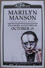 MARILYN MANSON 2017 Fillmore - Denver, Colorado 11x17 Promo Concert Poster