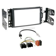 Chevrolet Uplander 05-08 2-DIN Autoradio Einbauset Adapter Kabel Radioblende