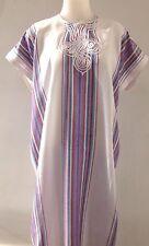 Moroccan Women Arabian Beach Summer/ wedding Caftan Dress Abaya Linen -  New
