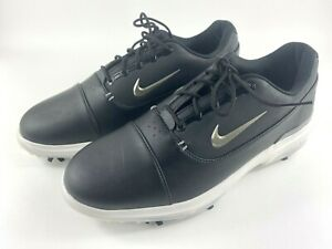 Nike Air Zoom Victory Pro Golf Shoes Leather AR5577-001 Black Men's Size 9.5 New