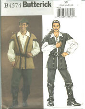 B 4574 sewing pattern COSTUME Robin Hood, Pirate, Musketeer VEST HAT PANTS SHIRT