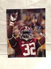 ALABAMA C.J CJ MOSLEY SIGNED AUTO FOOTBALL 8X10 PHOTO NFL DRAFT COA WOW E