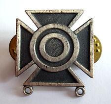 Insigne médaille CROIX à identifier,  29 x 26 mm, fixation pins, voir photo.