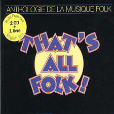 NEW - That's All Folk by Anthology of Folk Music