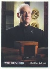 "BRENT SPINER ""BROTHER ADRIAN COSTUME RELIC CARD /150"" WAREHOUSE 13 SEASON 4"