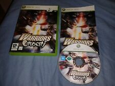 WARRIORS OROCHI XBOX 360 MICROSOFT COMPLET PAL FR