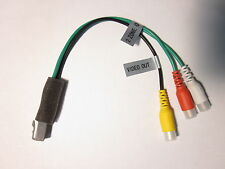 ORIGINAL CLARION NX501 VIDEO OUT 2 ZONE OUT RCA HARNESS NEW OEM G3