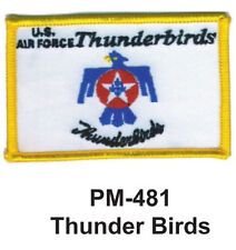 "3""  THUNDER BIRDS Embroidered Military Patch"
