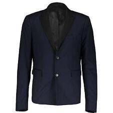 Kris Van Assche Navy Tuxedo Blazer Jacket IT52 UK42