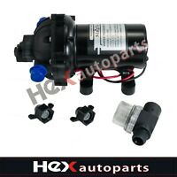 Fittings Replace Flojet High Pressure Water Pump 12 V DC 50 PSI 5.5 GPM 1//2 in