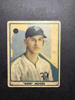 1941 Play Ball Gene Moore #25 Low Grade Free Shipping