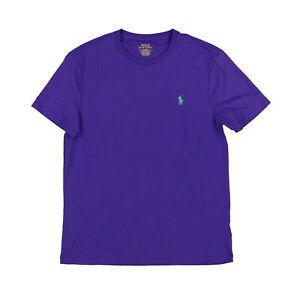 Polo Ralph Lauren Mens T-Shirt Custom Slim Fit Short Sleeve New Nwt S M L Xl Xxl