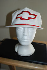 Vintage Chevrolet Chevy 80s Leather Strap Back Hat Deadstock USA Made