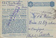 5373) WW2, POTENZA, FRANCHIGIA M. O. FERRARI DA BOVES, GAF FORTE CHAMBERON.